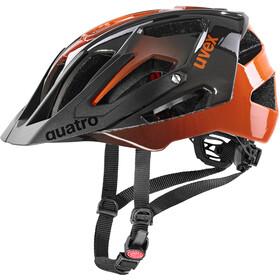 UVEX Quatro Helmet, titan/orange